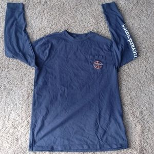 Vinyard Vines Blue Boys Basketball Shirt XL